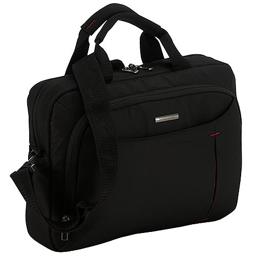 Samsonite Guardit Bailhandle Aktentasche mit Laptopfach 38 cm - black Sale Angebote Gablenz