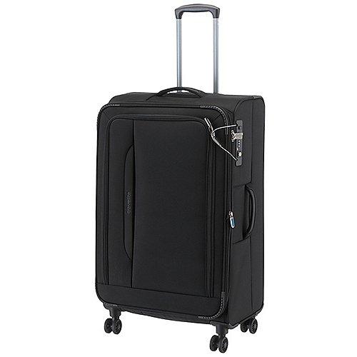 Travelite CrossLite 4.0 4-Rollen-Trolley 77 cm - schwarz
