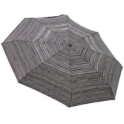 Knirps Taschenschirme X1 16,5 cm - stripes black