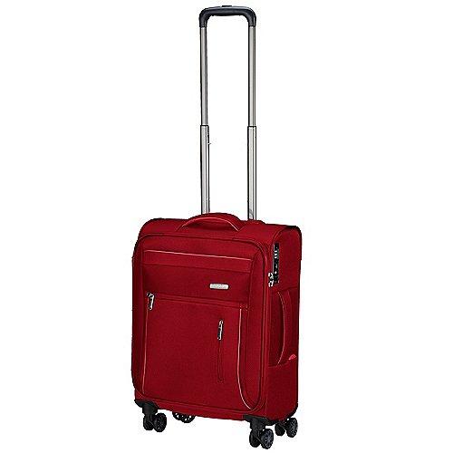 Groß Oßnig Angebote Travelite Capri 4-Rollen-Bordtrolley 55 cm - rot