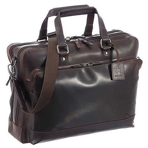 Leonhard Heyden Dakota Kurzgrifftasche mit Laptopfach 41 cm Produktbild