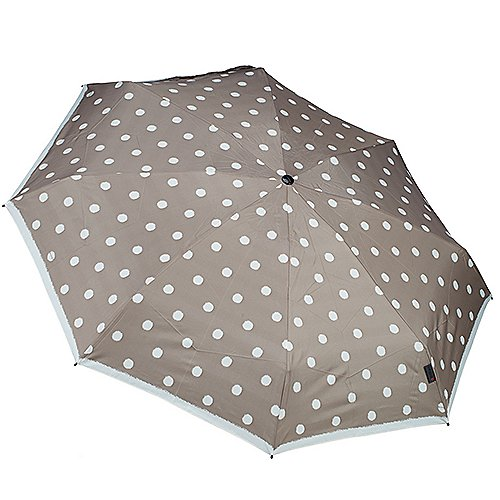 Knirps Taschenschirme T.010 Small Manual 18 cm - dot art taupe