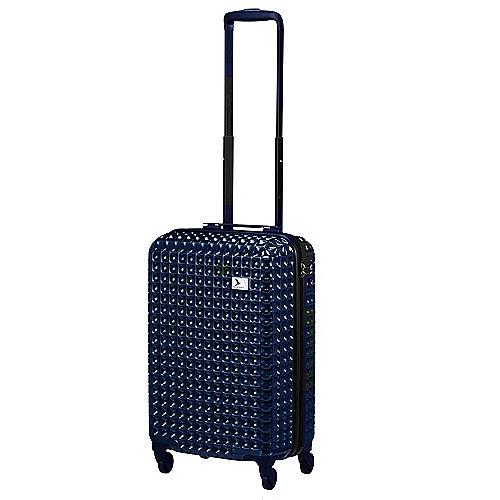 Pack Easy Dolce 4-Rollen-Bord-Trolley 55 cm - blau bei Koffer-Direkt.de