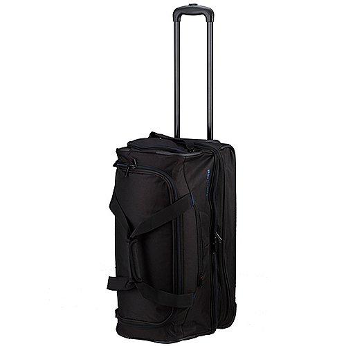 Travelite Basics Trolley Reisetasche 55 cm schwarz blau