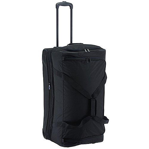 Travelite Basics Trolley Reisetasche 70 cm schwarz blau