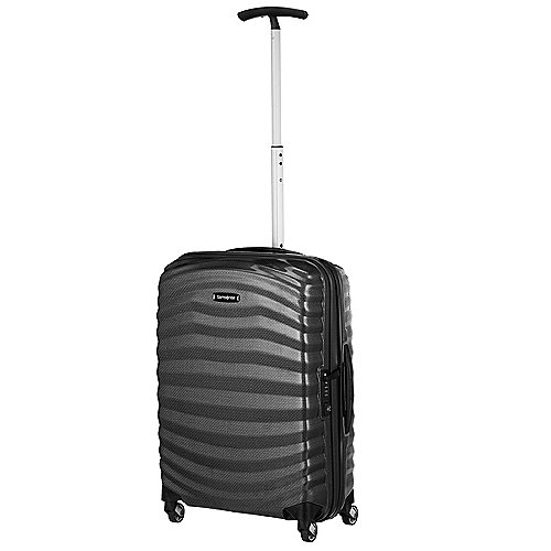 Samsonite Lite-Shock 4-Rollen-Kabinentrolley 55 cm - black