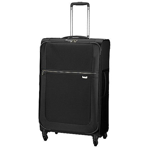 Samsonite Uplite Spinner 4-Rollen-Trolley 78 cm erw. - black gold