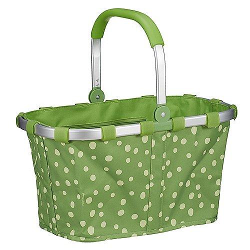 Reisenthel Shopping Carrybag Einkaufskorb 48 cm - spots green