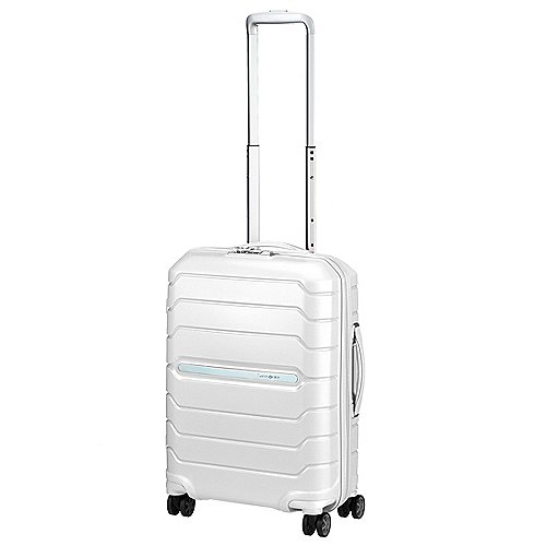 Samsonite Flux 4-Rollen-Kabinentrolley 55 cm - white