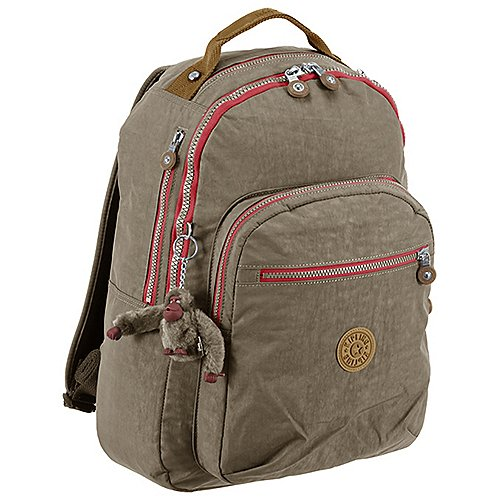 Kipling Basic Clas Seoul B Backpack Rucksack mit Laptopfach 45 cm - true beige c