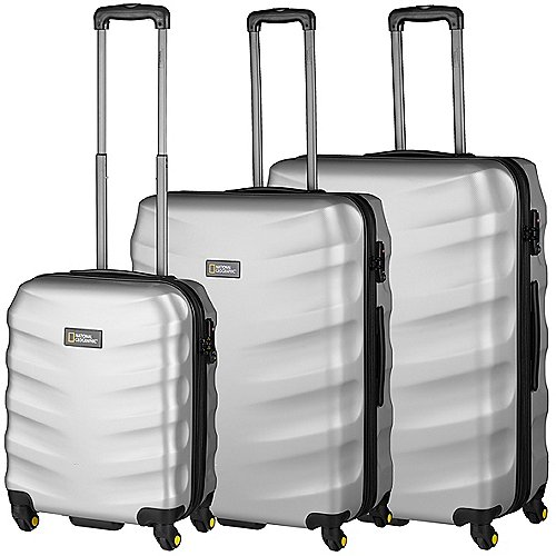 National Geographic Arete 4-Rollen Trolley Set 3-tlg. Produktbild