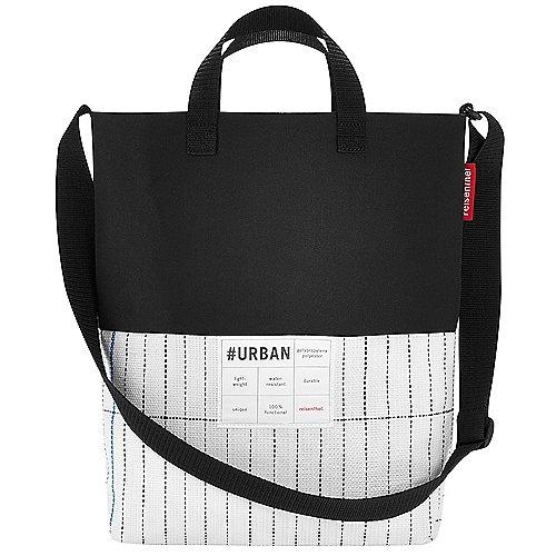Reisenthel Urban Schultertasche London 37 cm black white auf Rechnung bestellen