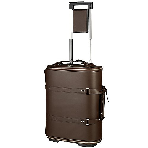 Vocier Leather Collection F38 Bordtrolley 55 cm - brown