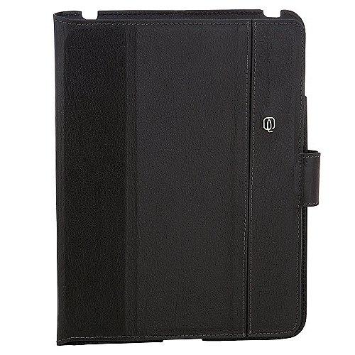 Piquadro Vibe iPad2-Lederschutzhülle mit Stände...