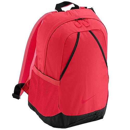 Nike Varsity Backpack Freizeitrucksack 45 cm - geranium/black/legion red