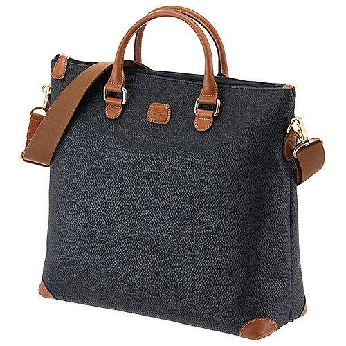 Brics Magellano Shopper mit Laptopfach 40 cm - black/brown