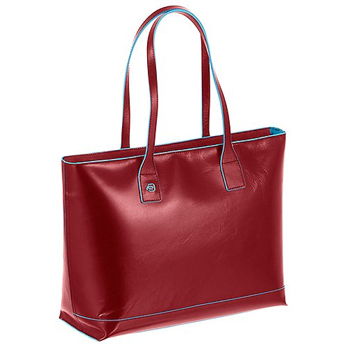 Piquadro Blue Square Shopping Bag 35 cm - rot