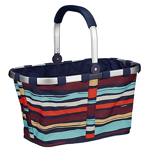 Reisenthel Shopping Carrybag Einkaufskorb 48 cm - artist stripes