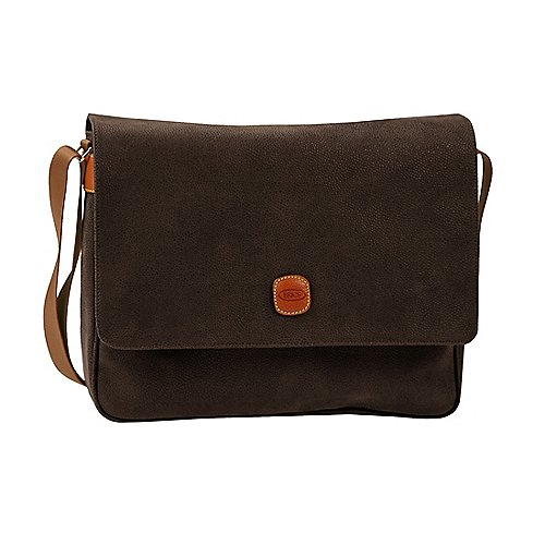 Brics Life Messenger Bag 35 cm - brown