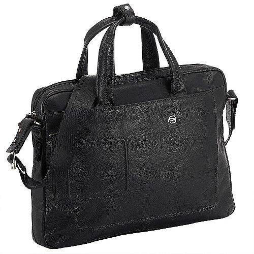 Piquadro Vibe Laptop-Tasche 39 cm - schwarz