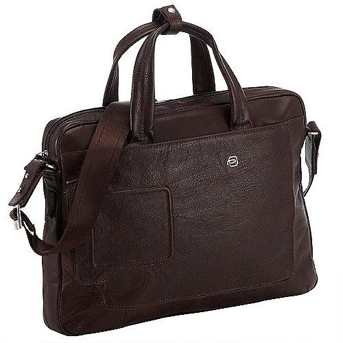 Piquadro Vibe Laptop-Tasche 39 cm - dunkelbraun