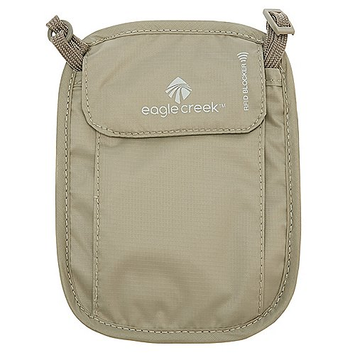 Eagle Creek Necessities Security RFID Blocker Neck Wallet Brustbeutel 18 cm Produktbild