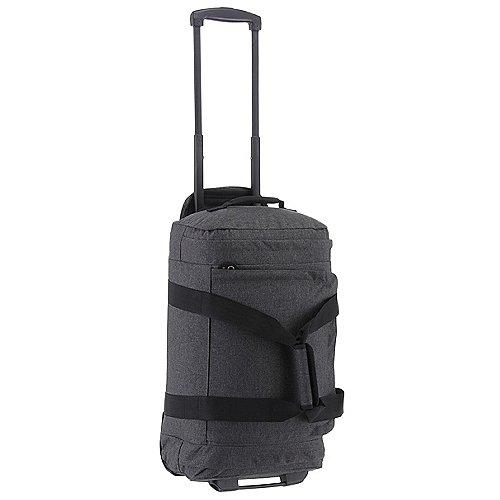 Eastpak Authentic Travel Leatherface Reisetasche auf Rollen 55 cm black denim