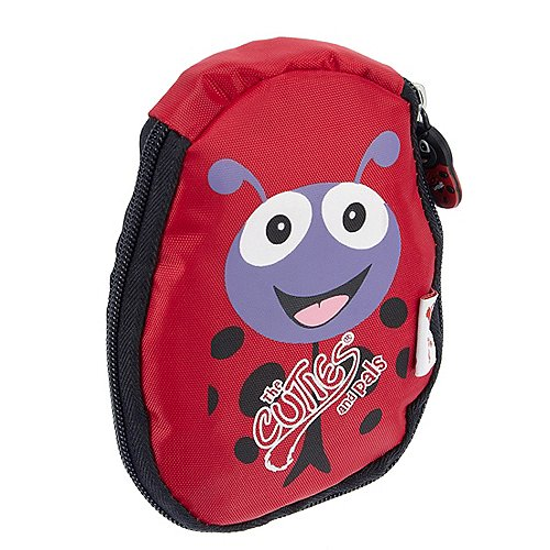 The Cuties and Pals Soft faltbarer Rucksack 30 cm - Marienkäfer