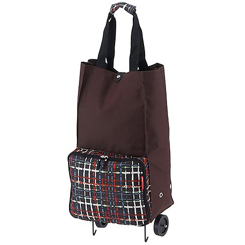 Reisenthel Shopping Foldabletrolley 66 cm - wool