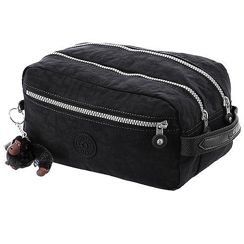 Kipling Basic Travel Agot Toiletry Bag Kulturtasche 26 cm - black bei Koffer-Direkt.de