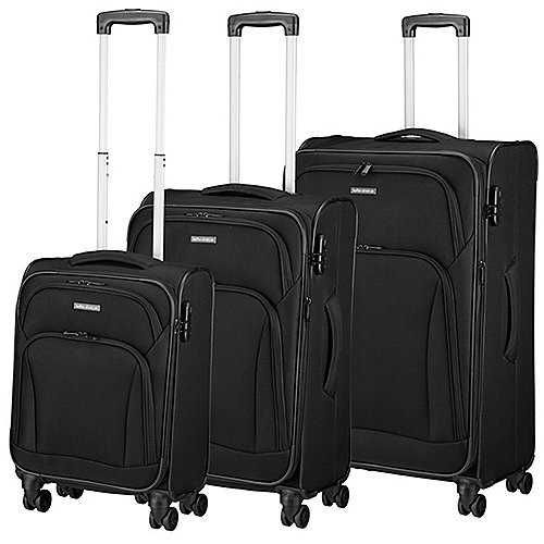 koffer-direkt.de Two Travel II 4-Rollen-Trolley Set 3-tlg. Produktbild