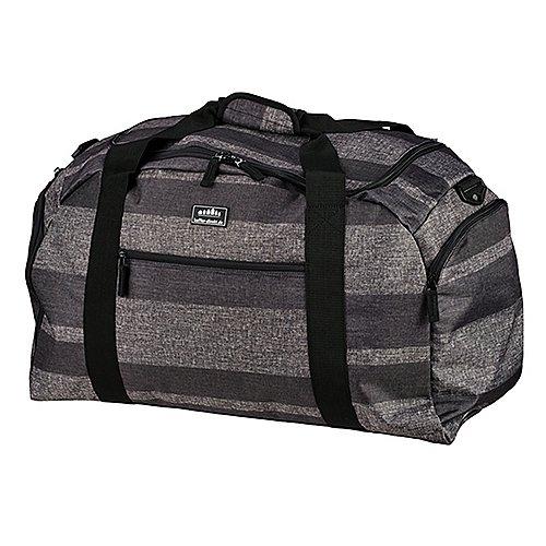 koffer direkt.de Two Travel II Reisetasche 50 cm grey stripe