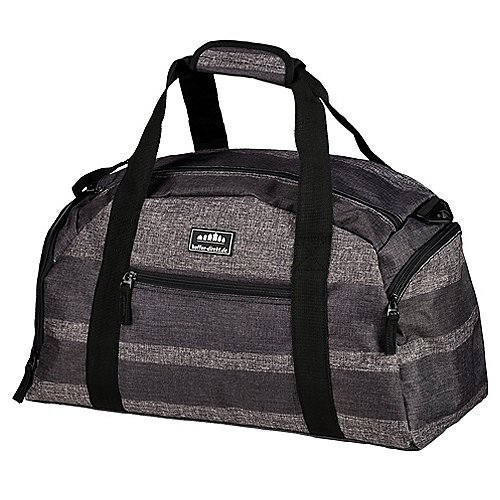 koffer direkt.de Two Travel II Reisetasche 46 cm grey stripe