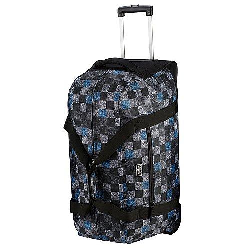 koffer direkt.de Two Travel II Rollenreisetasche 67 cm grey flanel caro