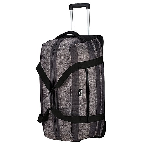 koffer direkt.de Two Travel II Rollenreisetasche 78 cm grey stripe