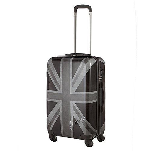 Kolkwitz Angebote Y NOT? Worldwide 4-Rollen-Trolley 67 cm - Flagge UK white/black
