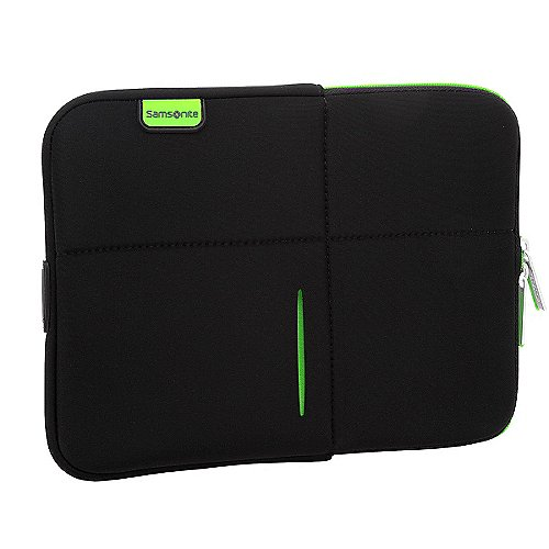 Samsonite Airglow Laptophülle 28 cm - schwarz/grün