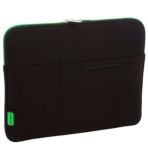 Samsonite Airglow Laptophülle 33 cm - schwarz/grün
