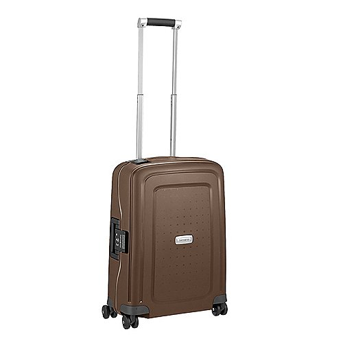 Samsonite S Cure DLX 4-Rollen-Trolley 55 cm - metallic bronze