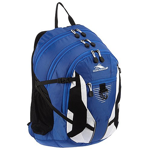 High Sierra School Backpacks Rucksack mit Laptopfach Aggro 49 cm - royal cobalt/white/black - broschei