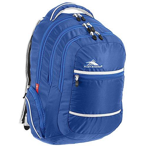 High Sierra School Backpacks Rucksack mit Laptopfach Toiyabe 48 cm - royal cobalt/white - broschei