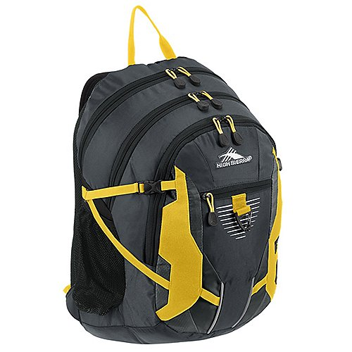 High Sierra School Backpacks Rucksack mit Laptopfach Aggro 49 cm - mercury/black/yell-o