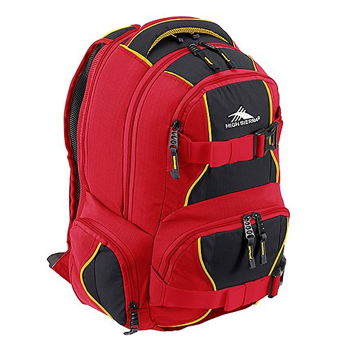 High Sierra School Backpacks Laptoprucksack Brody 48 cm - crimson/mercury/black - broschei