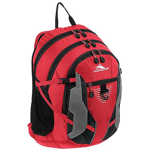 High Sierra School Backpacks Rucksack mit Laptopfach Aggro 49 cm - crimson/black/silver