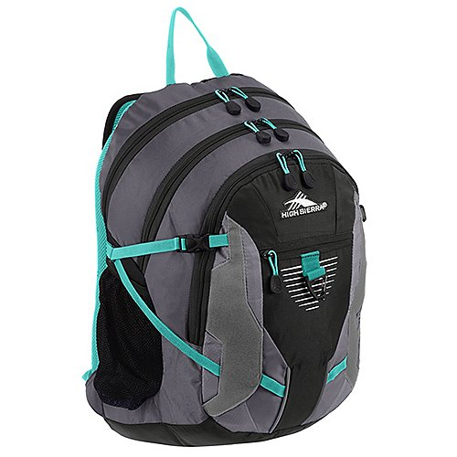 High Sierra School Backpacks Rucksack mit Laptopfach Aggro 49 cm - charcoal/black/silver