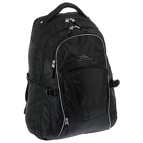 High Sierra Sportive Packs AT7 2 Office Rucksack mit Laptopfach 50 cm - black - broschei