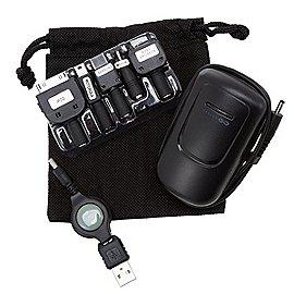 Design Go Reisezubehör Reiseladegerät lädt 2 Geräte gleichzeitig Produktbild