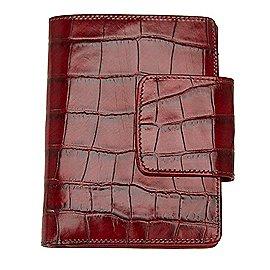 koffer-direkt.de Maitre Egregio Hochformatbörse 14 cm - dark red