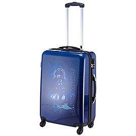 Reisetaschen Fabrizio Starwars 4-Rollen-Trolley 66 cm - darth vader