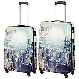 Fabrizio Travel Big Apple 4-Rollen-Trolley Set 2-tlg. Produktbild